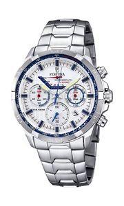 【送料無料】クオーツクロノグラフfestina f68362, orologio da uomo, al quarzo, con cronografo, display del b5f:hokushin