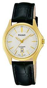 パルサー×pulsar orologio da polso da donna al quarzo in pelle ph7426x 1 q4q