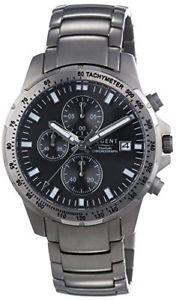 【送料無料】リージェントチタンシルバーストラップregent 11090325  orologio da polso da uomo, cinturino in titanio colore argento:hokushin