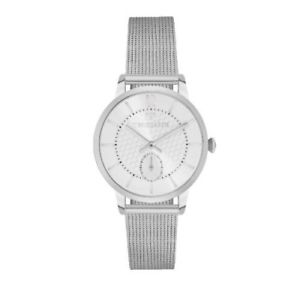 【送料無料】スモールセコンドメッシュtrussardi tgenus 32mm small second sil di ss mesh r2453113503