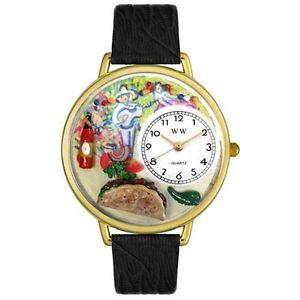 【送料無料】アナログスキンwhimsical watches orologio da polso, analogico al quarzo, pelle y6c
