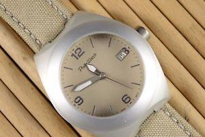 【送料無料】フィリップウォッチストラップキャンバスorologio philip watch imakos cinturino tela e pelle idea regalo