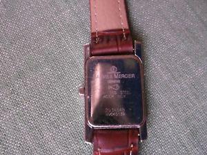 クロックメルシエハンプトンモデルwatch uhr orologio baume mercier modello hampton