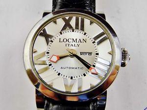 ウォッチスチールorologio locman ref 293 automatico acciaio uomo