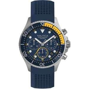 クロッククロノグラフorologio nautica uomo napwpc002 cronografo 44 mm 0656086088366