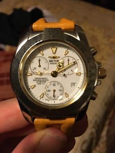 【送料無料】クロノグラフウォッチセクターアナログcronografo orologio sector serie sge 800 crono suisse made analogico nuovo origi