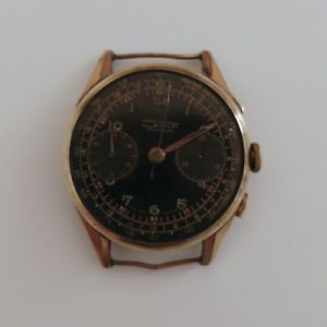 chronographe nicolet landeron 39  rviser