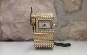 【送料無料】オリジナルカフクリスタルウォッチブレスレットorologio watch roccobarocco originale bracciale cristalli swarovsky bracelet