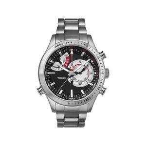 【送料無料】クロッククロノタイマーウォッチorologio timex iq chronotimer ref tw2p73000 timex watch
