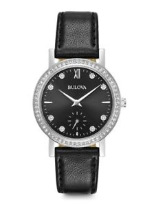 【送料無料】bulova donna crystals 96l246