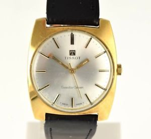 【送料無料】ティソマニュアルキャリバーtissot seastar seven manuale caliber 781 1970 gold plated nos