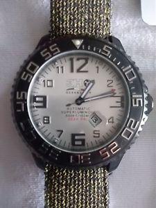 【送料無料】ディープサブ3h oceandiver deep pro orologio automatico sub mai indossato