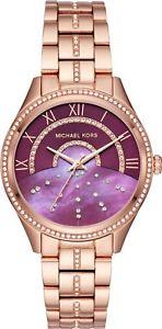 ミハエルmichael kors mk3722 donna lauryn orologio da polso autentico  veloce