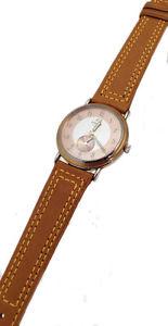 【送料無料】クロックマンスチールビンテージenicar orologio uomo pelle acciaio data watch man leather date vintage