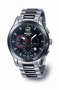 【送料無料】クロックマンboccia b377102 orologio uomo