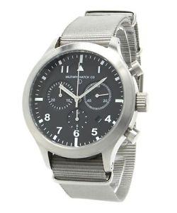 【送料無料】クロッククロノグラフパイロットクロノウォッチorologio cronografo militare mwc mteciiiss mtec3ss military pilot chrono watch