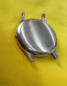 カサビンテージm261  longines cassa nos uomo tutta acciaio 3 corpi big 37,2 mm vintage 194060