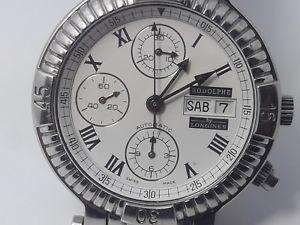 クロノグラフクロノグラフロンジンバイロドルフcronografo longines 674 rodolphe eta 7750  chronograph longines rodolphe 6742