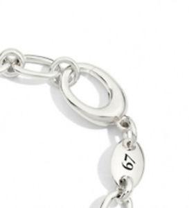カフブレスレットシルバーbracciale bracelet  pomellato 67 argento bb521a
