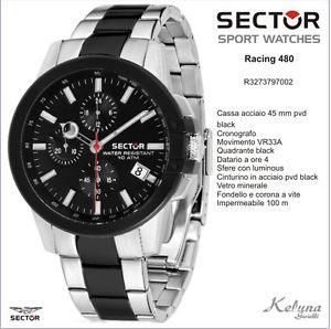 【送料無料】セクターコレクションレーシングクロノグラフorologio sector collezione racing 480 r3273797002 299 cassa 45mm cronografo