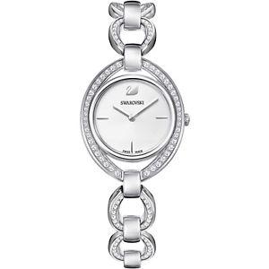 【送料無料】スワロフスキークリスタルシルバースイスorologio swarovski stella cristalli argentato 5376815 donna watch swiss