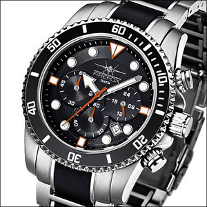 クロノグラフfirefox ffs235102 cronografo uomo orologio