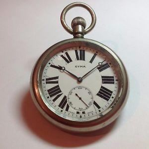 ポケットantico orologio cyma da tasca funzionante