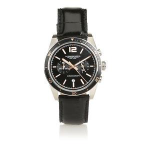 【送料無料】ブラザーズクロノag spalding amp; bros orologio da polso uomo buxton chrono, nero 174436u900