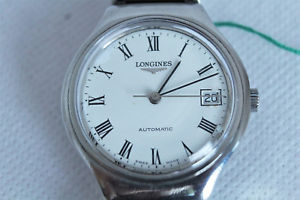 【送料無料】orologio longines automatico anni '70 acciaio