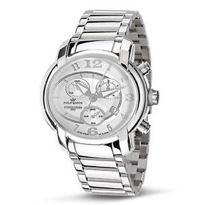 【送料無料】クロノグラフフィリップスチールコレクションorologio cronografo philip watch r8273650145 acciaio collezione 150 anniversary