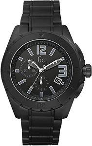 【送料無料】クロノグラフguess 1482553 orologio da polso, cronografo, donna, pelle, nero z0k