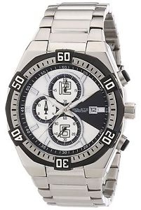 【送料無料】クロッククロノグラフpoliti orologi or3851 cronografo da uomo d3c