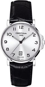 【送料無料】ストラップcertina 205a c0174101603200 orologio da polso da uomo, cinturino in i2c