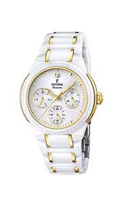 【送料無料】セラミックスfestina f166992 orologio da polso, donna, ceramica, colore bianco z0k
