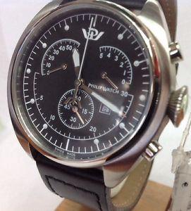 【送料無料】クロノグラフフィリップモデルウォッチcronografo philip watch modello saetta