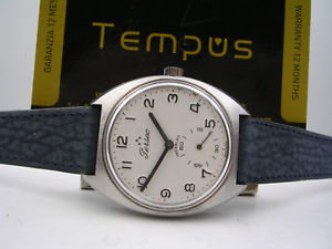 【送料無料】ペルセウスマニュアルperseo ferrovie dello stato anni 70 manuale 17 jewels orologio uomo