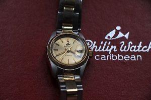 【送料無料】フィリップカリビアンスチールnuova inserzioneorologio philip watch caribbean oro e acciaio 1979