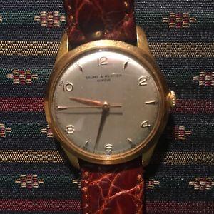 【送料無料】メルシエクロックパルスゴールデンスチール311951 baume mercier orologio polso acciaio dorato 1960 circa
