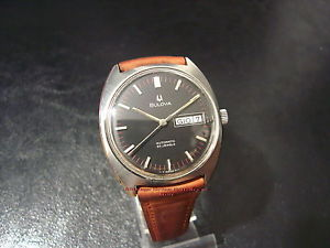 【送料無料】クロックミントビンテージウォッチorologio bulova  automatic daydate 1970ca mint condition vintage watch