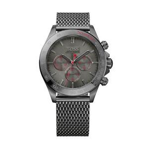【送料無料】ヒューゴボスステンレスクロノグラフhugo boss ikon 1513443 orologio cronografo da uomo in acciaio inossidabile