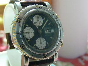 【送料無料】クロノグラフウォッチダイバーズクロノグラフorologio cronografo bulova automatico divers 10atm chronograph valjoux 7750