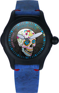 【送料無料】クロックウォッチイタリアorologio booble watch mod calavera limited edition made in italy