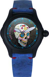 【送料無料】クロックウォッチイタリアorologio booble watch mod calavera limited edition made in italy