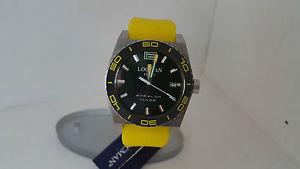 【送料無料】ウォッチステルスイエローブラックシリコンチタンエンドプレートorologio locman stealth mare 211 giallo nero acciaio silicone fondello titanio