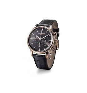 【送料無料】クロノグラフブラックピンクゴールドorologio locman 1960 watch 0254r01rrrbkrgpk cronografo uomo pelle nera oro rosa