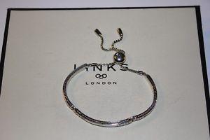 【送料無料】ブレスレット アクセサリ― ロンドンスターリングシルバーリンクアスコットブレスレットgenuine links of london sterling silver amp; 18ct rgv ascot narrative bracelet