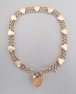 【送料無料】ブレスレット アクセサリ― イエローゴールドロンドンブレスレットboxed 9ct yellow gold 7 bracelet by asj, london 1989 91g