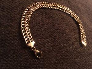 【送料無料】ブレスレット アクセサリ― listing9ct listing9ct gold bracelet stunning not scrap