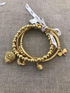 【送料無料】ブレスレット アクセサリ― ブレスレットブランドボックスセットchlobo set of 3 happiness bracelets brand boxed rrp 290