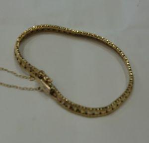 【送料無料】ブレスレット アクセサリ― ゴールドブレスレット9ct gold bracelet